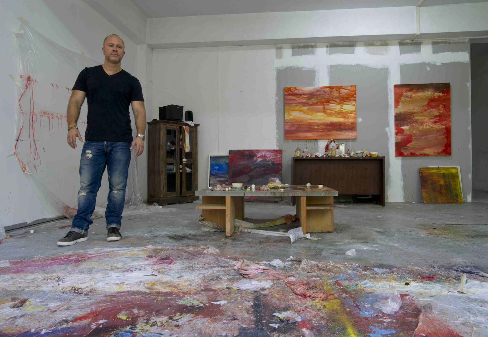 Scott Petrie Art - Studio